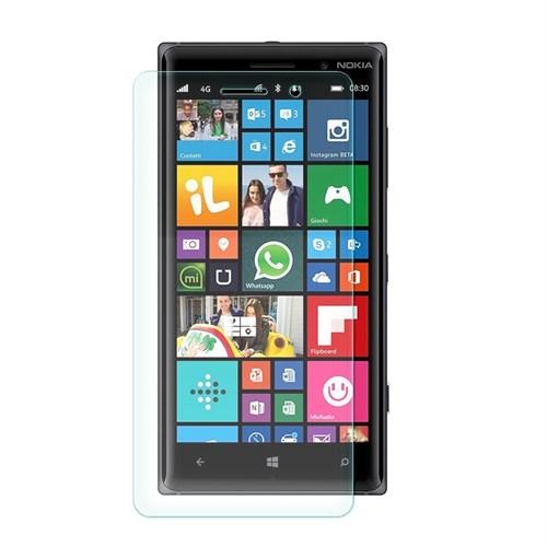 Cep Market Microsoft Lumia 830 Kırılmaz Cam Ekran Koruyucu - Tempered Glass