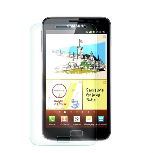 Cep Market Samsung Galaxy Note 1 Kırılmaz Cam Ekran Koruyucu - Tempered Glass