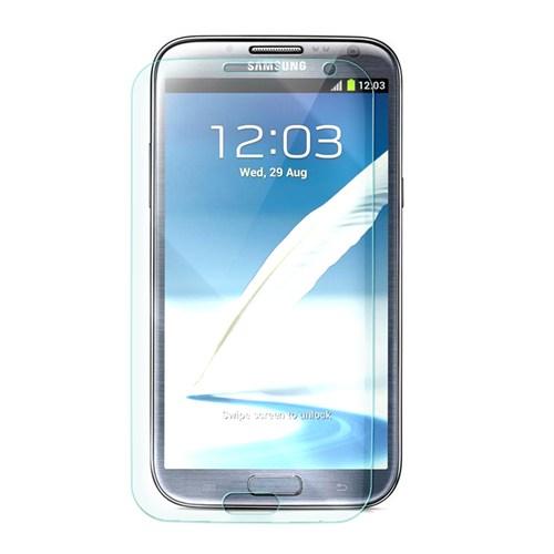 Cep Market Samsung Galaxy Note 2 Kırılmaz Cam Ekran Koruyucu - Tempered Glass