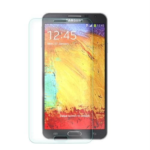 Cep Market Samsung Galaxy Note 3 Neo Kırılmaz Cam Ekran Koruyucu - Tempered Glass