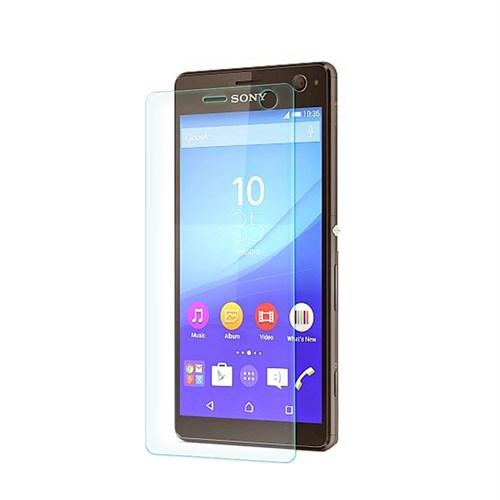 Cep Market Sony Xperia C4 Kırılmaz Cam Ekran Koruyucu - Tempered Glass