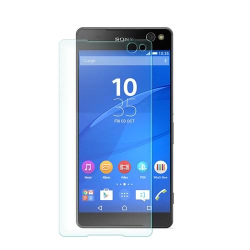 Cep Market Sony Xperia C5 Ultra Kırılmaz Cam Ekran Koruyucu - Tempered Glass