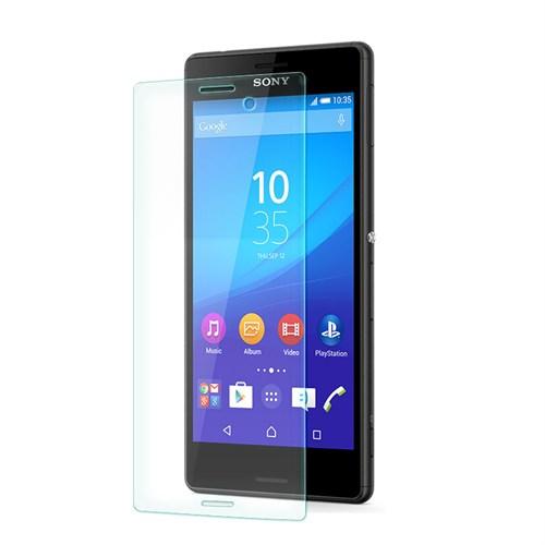 Cep Market Sony Xperia M4 Aqua Kırılmaz Cam Ekran Koruyucu - Tempered Glass