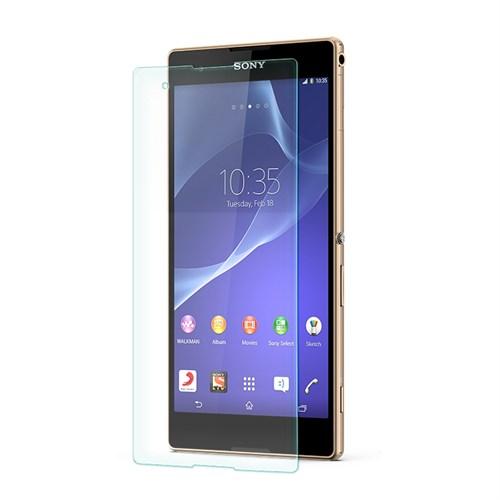Cep Market Sony Xperia T2 Kırılmaz Cam Ekran Koruyucu - Tempered Glass