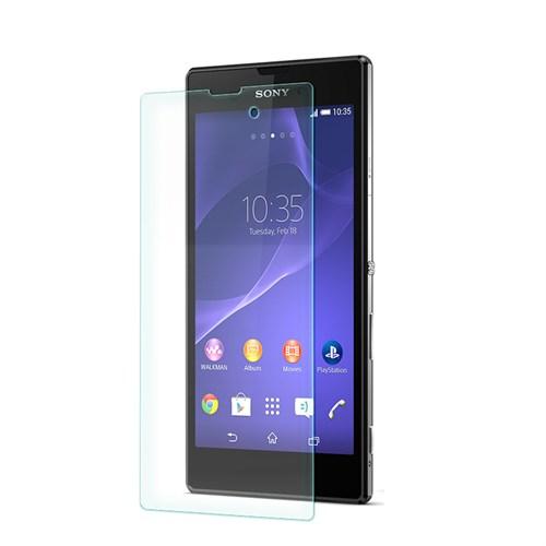 Cep Market Sony Xperia T3 Kırılmaz Cam Ekran Koruyucu - Tempered Glass