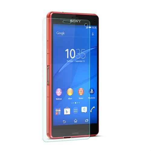 Cep Market Sony Xperia Z3 Compact Kırılmaz Cam Ekran Koruyucu - Tempered Glass