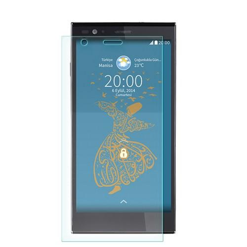 Cep Market Vestel Venüs 5.5V Kırılmaz Cam Ekran Koruyucu - Tempered Glass