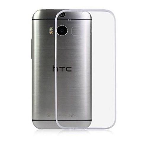 Ebox HTC One M8 Şeffaf İnce Silikon Arka Kapak - EBX-2540