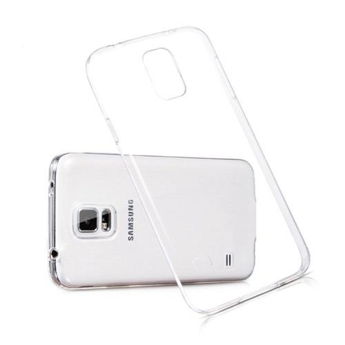 Ebox Samsung Galaxy S5 Şeffaf İnce Silikon Arka Kapak - EBX-2502