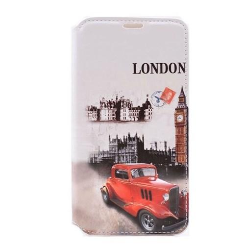 Teleplus Samsung Galaxy Note 4 London Desenli Kılıf