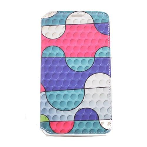 Teleplus Samsung Galaxy Note 4 Yapboz Desenli Kılıf