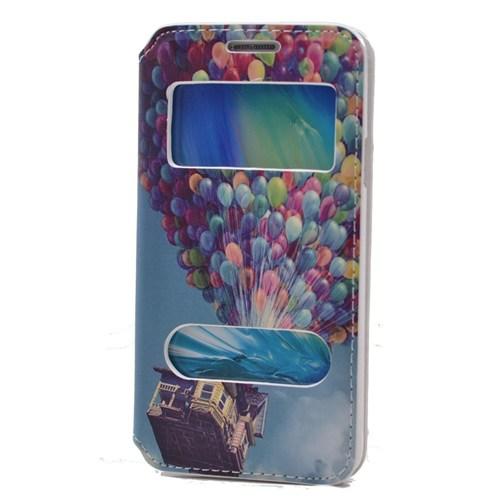 Teleplus Samsung Galaxy A3 Pencereli Desenli Kılıf Balon