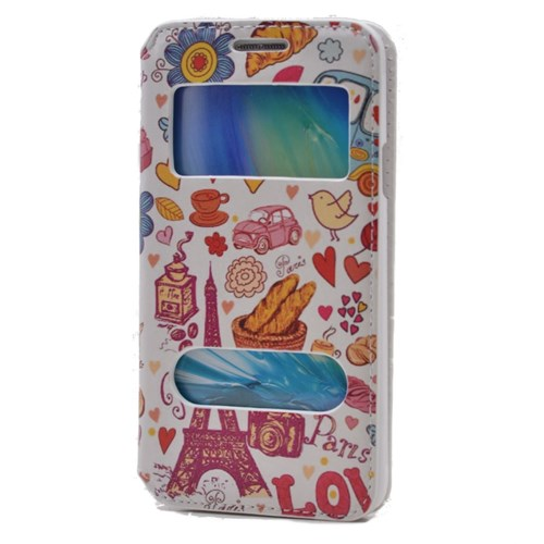 Teleplus Samsung Galaxy A3 Pencereli Desenli Kılıf Love
