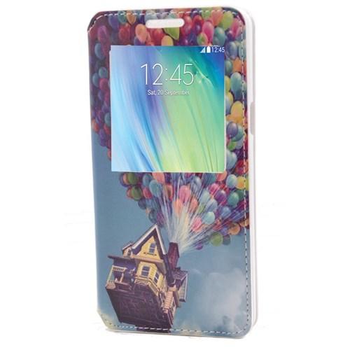 Teleplus Samsung Galaxy A5 Pencereli Desenli Kılıf Balon