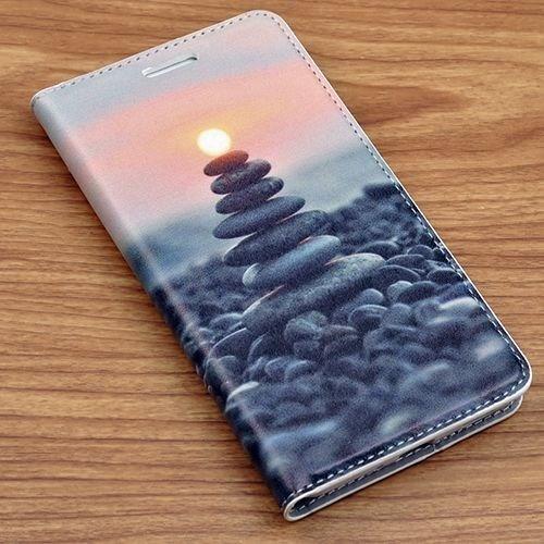 Teleplus Samsung Galaxy Alpha Güneş Desenli Kılıf