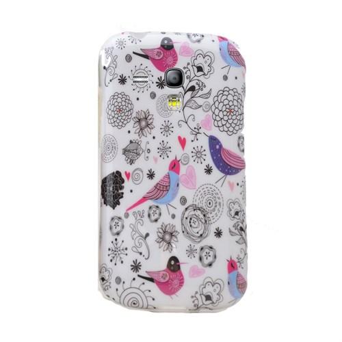 Teleplus Samsung Galaxy S3 Mini Desenli Silikon Kılıf Kuş