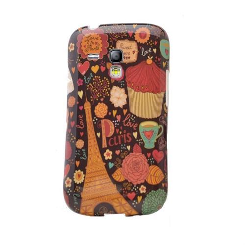 Teleplus Samsung Galaxy S3 Mini Desenli Silikon Kılıf Paris