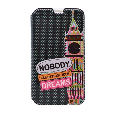 Teleplus Samsung Galaxy Note 5 Standlı Desenli Kılıf Dreams