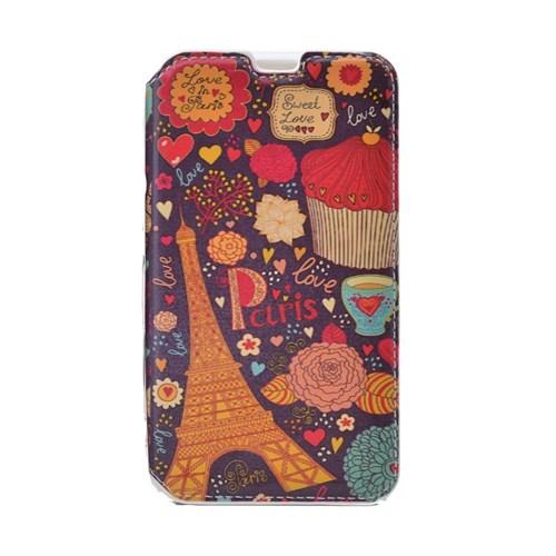 Teleplus Samsung Galaxy Note 5 Standlı Desenli Kılıf Paris