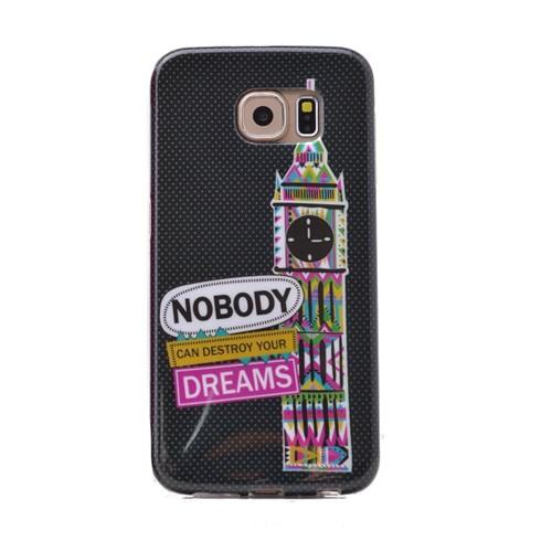 Teleplus Samsung Galaxy Note 5 Desenli Silikon Kılıf Dreams