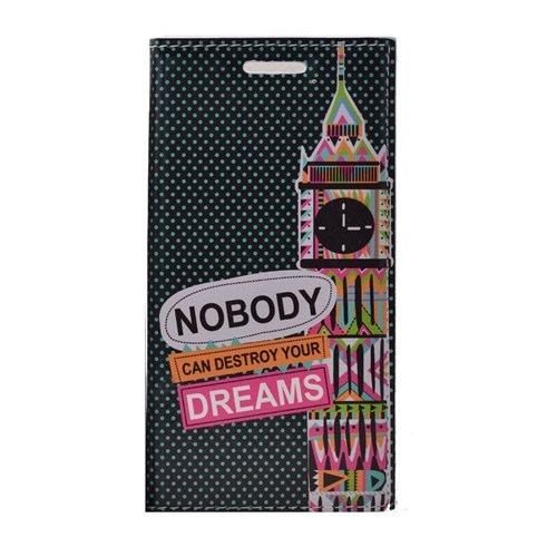 Teleplus Samsung Galaxy J2 Desenli Standlı Kılıf Nobody