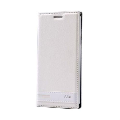 Teleplus Samsung Galaxy A3 2016 Mıknatıslı Kılıf Beyaz