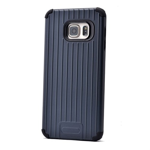 Teleplus Samsung Galaxy Note 5 Tam Korumalı Rubber Kılıf Lacivert