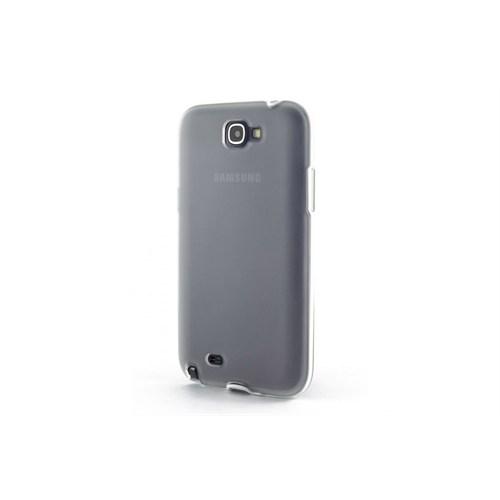Teleplus Samsung Note 2 Silikon Kılıf Beyaz