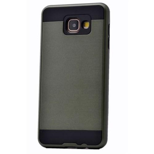 Teleplus Galaxy A7 2016 Çift Katmanlı Kapak Kılıf Yeşil