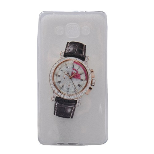 Teleplus Samsung Galaxy J5 Saat Desenli Tam Korumalı Silikon Kılıf 2