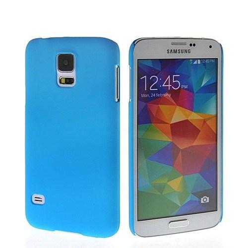 Teleplus Samsung Galaxy S5 Tam Korumalı Silikon Kılıf Mavi