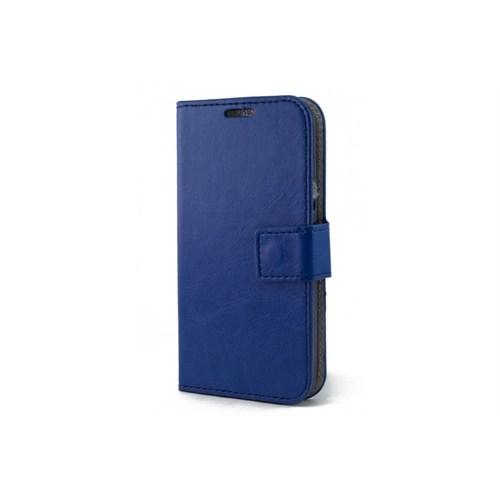 Teleplus Samsung Galaxy S5 Mini Cüzdanı Unutturan Kılıf Mavi