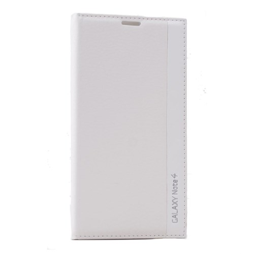 Teleplus Samsung Galaxy Note 4 Lüx Kılıf Beyaz