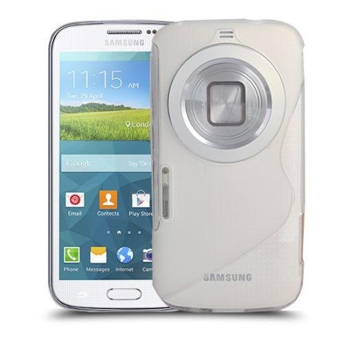 Teleplus Samsung Galaxy S5 K Zoom Lüx Silikon Kılıf Şeffaf