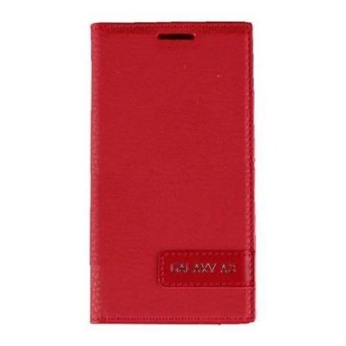 Teleplus Samsung Galaxy A3 Flip Cover Kılıf Kırmızı