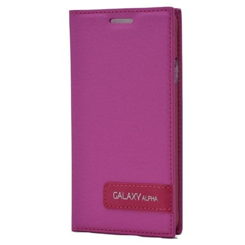 Teleplus Samsung Galaxy Alpha Safir Kılıf Pembe