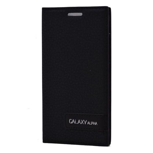 Teleplus Samsung Galaxy Alpha Safir Kılıf Siyah