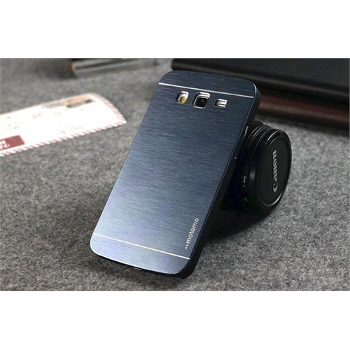 Teleplus Samsung Galaxy A7 Alüminyum Arka Kapak Kılıf Mavi