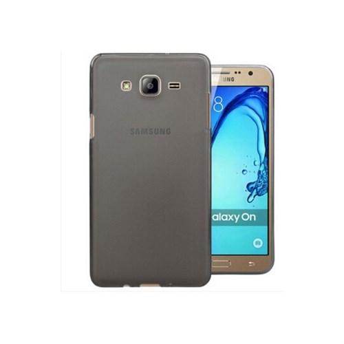 Teleplus Samsung Galaxy On5 Tam Korumalı Silikon Kılıf Siyah