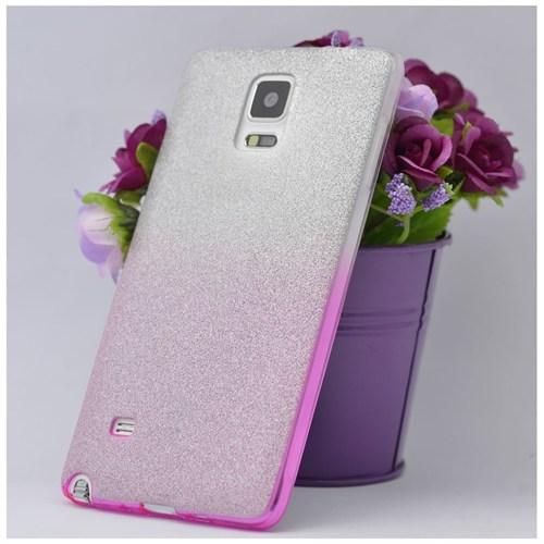 Teleplus Samsung Galaxy Note 4 Simli Kılıf Kapak 2
