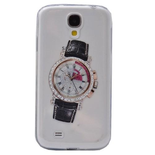 Teleplus Samsung Galaxy S3 Saat Desenli Silikon Kılıf 10