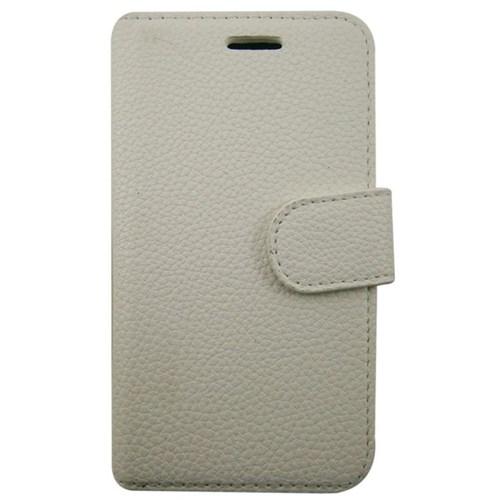 Teleplus Samsung Galaxy S4 Zoom Beyaz Cüzdanlı Deri Kılıf