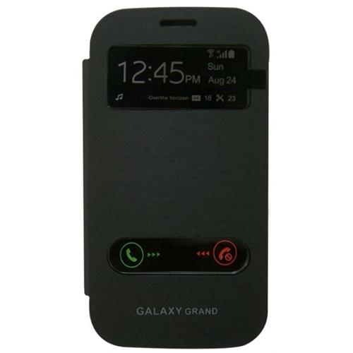 Teleplus Samsung İ9082 Galaxy Grand Duos Siyah Pencereli Kılıf