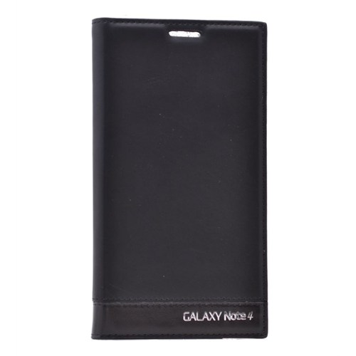 Teleplus Samsung Galaxy Note 4 Özel Kılıf Siyah