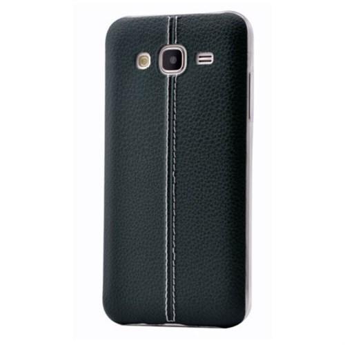 Teleplus Samsung Galaxy J3 Dikişli Silikon Kılıf Yeşil