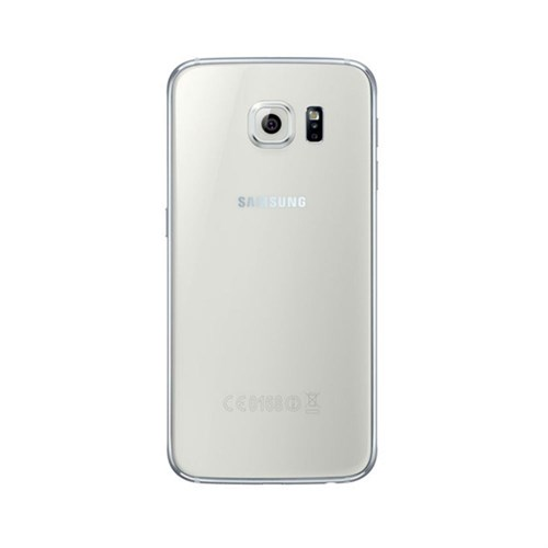 Teleplus Samsung Galaxy S6 Arka Pil Batarya Kapak Beyaz