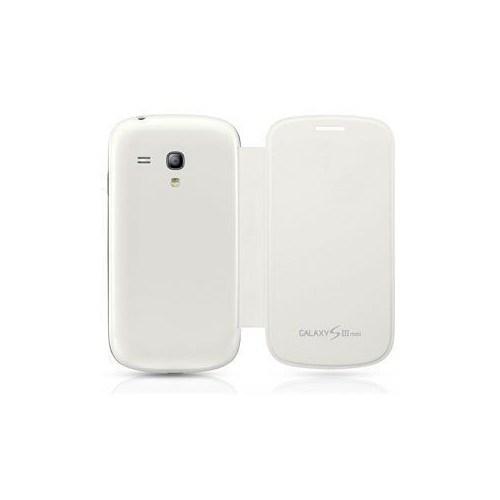 Teleplus Samsung İ8190 Galaxy S3 Mini Flip Cover ( Beyaz )