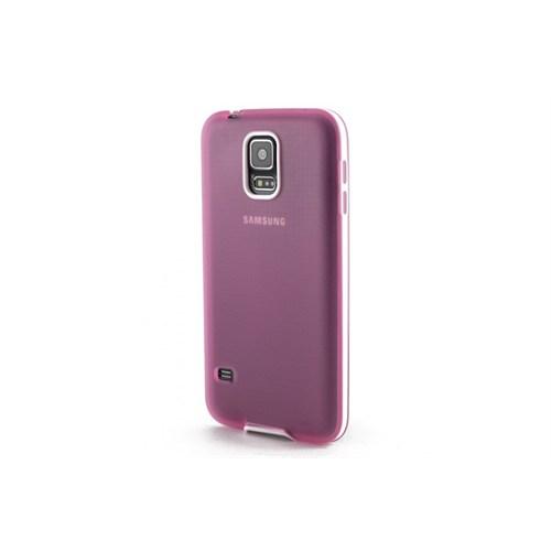 Teleplus Samsung Galaxy S5 Silikon Kılıf Pembe