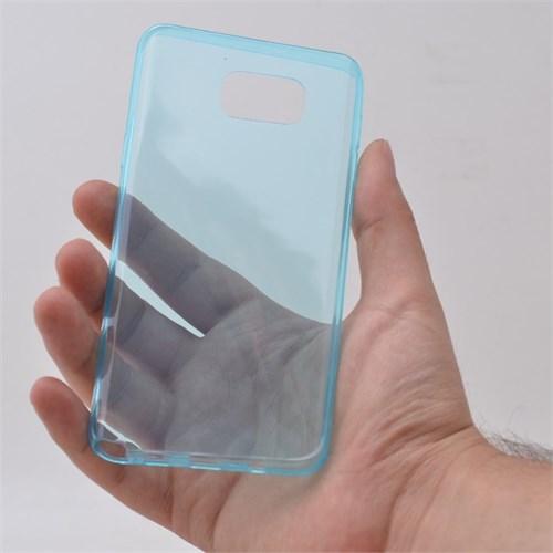 Teleplus Samsung Galaxy Note 5 Silikon Kılıf Mavi