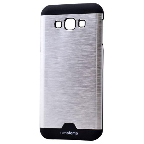 Teleplus Samsung Galaxy J7 Metal Kapak Tam Korumalı Gri